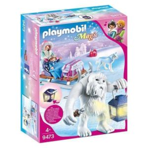 Playset Magic Winter Trol Playmobil 9473