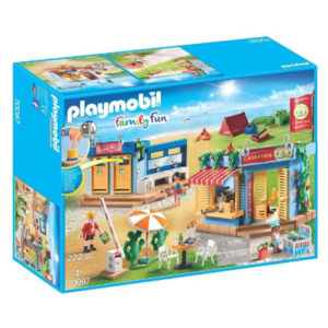 Playset Family Fun Camping Playmobil 70087 (222 pcs)