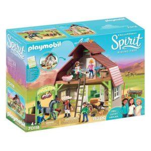 Playset Spirit Playmobil 70118 (153 pcs)