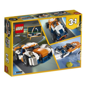 Playset Creator Sunset Track Racer Lego 31089