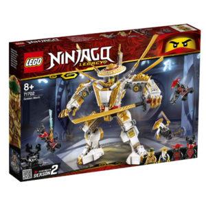Playset Ninjago Golden Mech Lego 71702