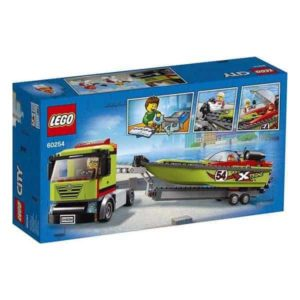 Playset City Race Boat Transporter Lego 60254