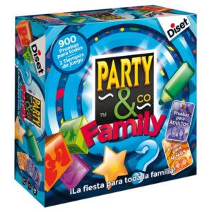 Jeu de société Party & Co Family Diset (ES)