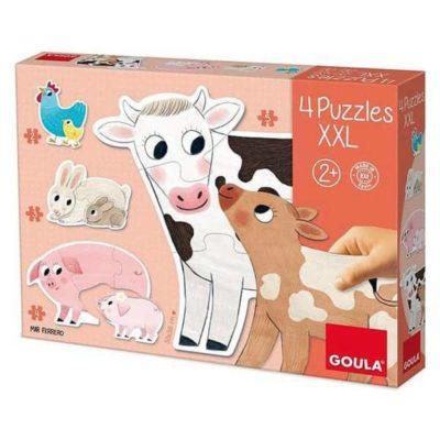 Puzzle Animaux Xxl Diset (18 pcs), Super idées cadeaux