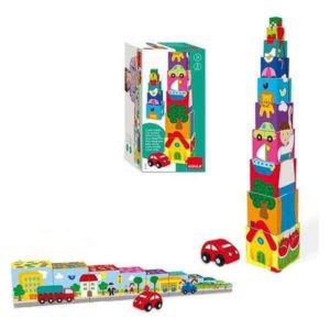 Blocs Empilables City Goula (10 pcs)