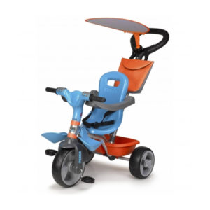 Tricycle Feber Baby Plus Music Bleu Orange