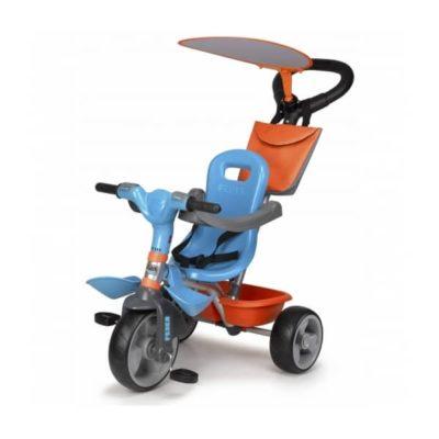 Tricycle Feber Baby Plus Music Bleu Orange