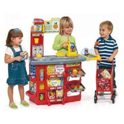 Playset Supermarket Moltó (20 pcs)