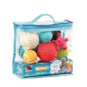 Set de construction Play&Sense Soft Balls Moltó (10 pcs)