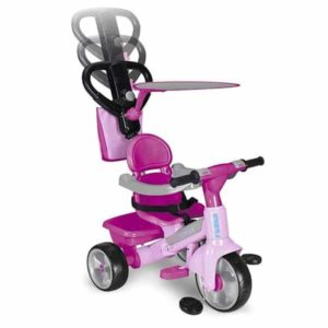 Tricycle Feber Baby Plus Music (69 x 52 x 96 cm) Rose