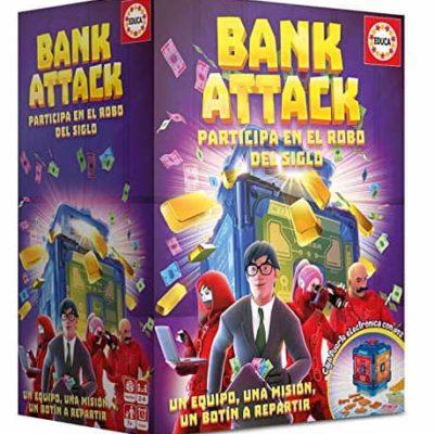 Jeu de société Bank Attack Educa
