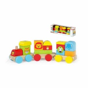 Train avec passagers Animals (16 pcs)