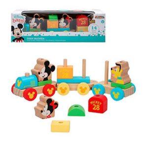 Train Mickey & Minnie 14 pcs 34 cm (18+ mois)