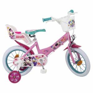 Vélo pour enfants Minnie Mouse 14″ Rose
