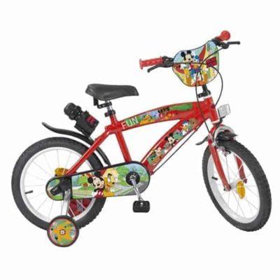 Vélo pour enfants Mickey Mouse 14″ Rouge