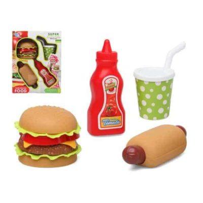 Ensemble d'aliments pour dînette Fast Food