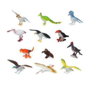 Set Animaux Sauvages 110180 Oiseau (12 Pcs)