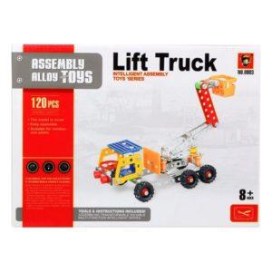 Set de construction Camion avec grue 117622 (120 Pcs)