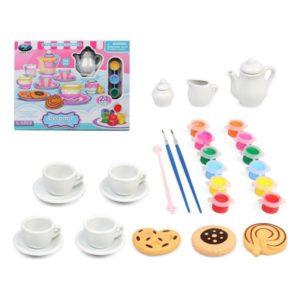 Ensemble pour activités manuelles Tea Time 119930 (21 pcs)