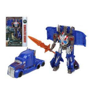 Super Robot Transformable Armor Deformer Bleu