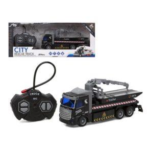 Camion Radiocommandé City Rescue Noir
