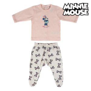 Pyjama bébé Minnie Mouse Rose