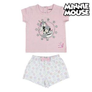 Pyjama D'Été Minnie Mouse Rose