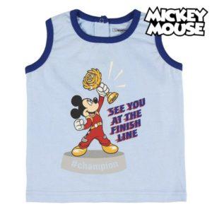 Pyjama D'Été Mickey Mouse Bleu