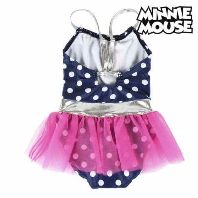 Maillot de Bain Fille Minnie Mouse Blue marine