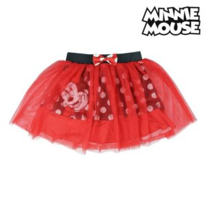 Jupe Minnie Mouse Tulle Rouge