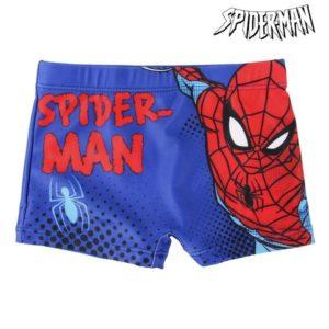 Boxer de Bain pour Enfants Spiderman Bleu