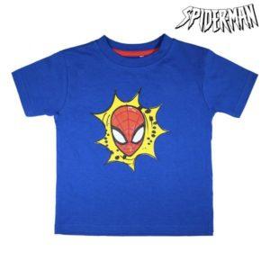 Pyjama D'Été Spiderman Blue marine Blanc
