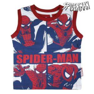Pyjama D'Été Spiderman Rouge Blanc