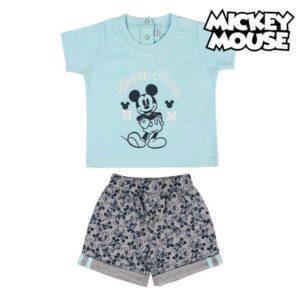 Ensemble de Vêtements Mickey Mouse Bleu