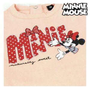 Ensemble de Vêtements Minnie Mouse Rouge Rose