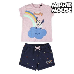 Ensemble de Vêtements Minnie Mouse Rose Blue marine