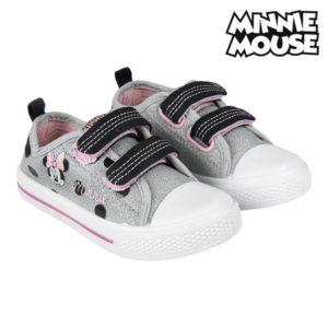 Chaussures casual enfant Minnie Mouse Argenté