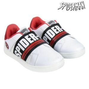 Chaussures de Sport pour Enfants Spiderman Blanc