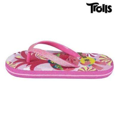 Tongs pour Enfants Trolls Fuchsia