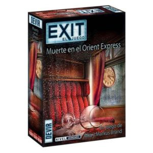 Jeu de société Exit Orient Express Devir (ES)