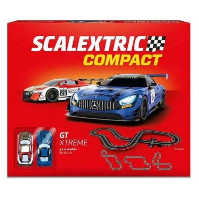 Piste de course Compact GT Xtreme Scalextric, Super idées cadeaux