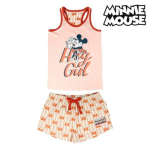 Pyjama D'Été Minnie Mouse Rose