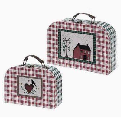 Set de valises Homania 7840 (2 uds) Carton