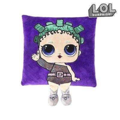 coussin 3D LOL Surprise! 74481 Violet