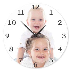 Horloge personnalisée photo