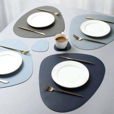 Set de table en similicuir haut de gamme