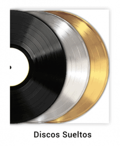 Disque d'or personnalisé série disco