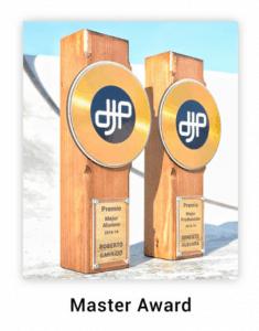 Disque d'or personnalisé série master awards