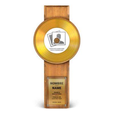 Master Award Gold Personnalisé
