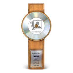 Master Award Platine Personnalisé